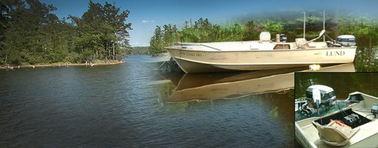 Hayward Wisconsin & Cable WI Boat Rentals