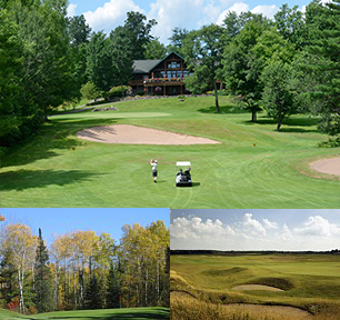 Lodging near Hayward & Cable Wisconsin Golf Courses