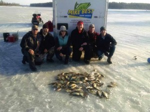 Hayward WI Ice Fishing Guide Service
