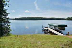 Lake Namakagon Log Cabin for Sale